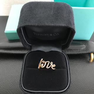 ティファニー(Tiffany & Co.)の値下げ!ティファニー LOVE リング(リング(指輪))
