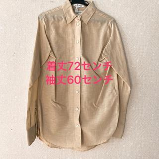 マディソンブルー(MADISONBLUE)のマディソンブルー ワイシャツ ベージュ(シャツ/ブラウス(長袖/七分))