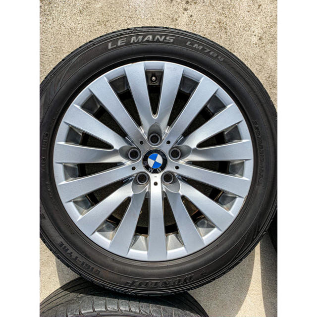 BMW(ビーエムダブリュー)のbmw 18インチ 純正ホイール 4本セット 自動車/バイクの自動車(タイヤ・ホイールセット)の商品写真