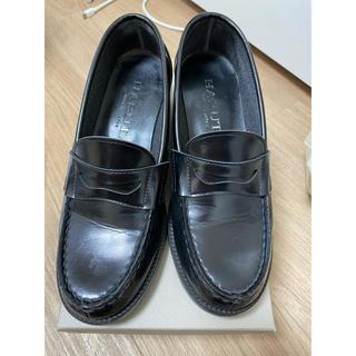 ハルタ(HARUTA)のHARUTA ローファー ヒール 24センチ(ローファー/革靴)