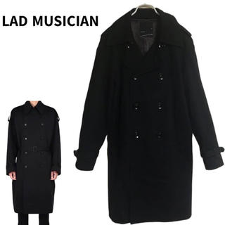 ラッドミュージシャン(LAD MUSICIAN)のLAD MUSICIAN ラッドミュージシャン トレンチコート 美品 44サイズ(トレンチコート)