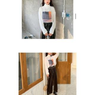 ディーホリック(dholic)のdholic プリントTシャツ新品未使用(Tシャツ/カットソー(七分/長袖))