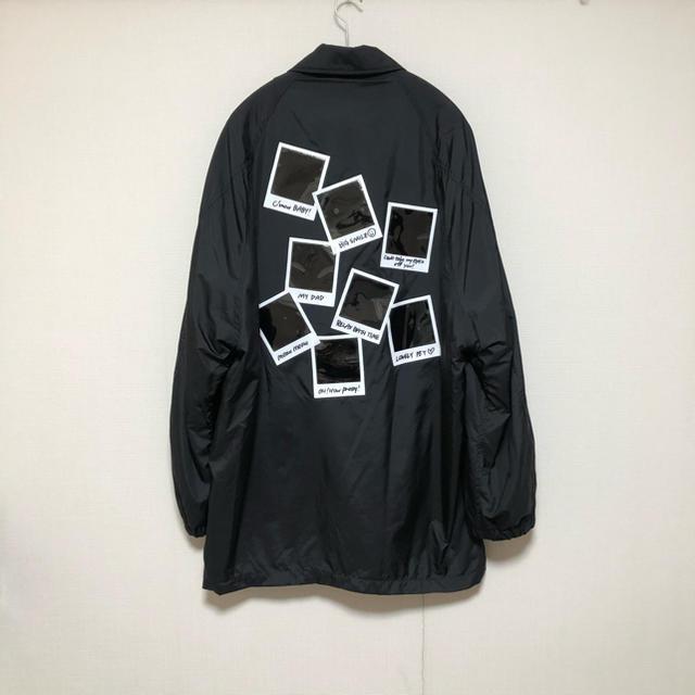 Jieda(ジエダ)のdoublet 19aw POLAROID FILM COACH JACKET メンズのジャケット/アウター(その他)の商品写真