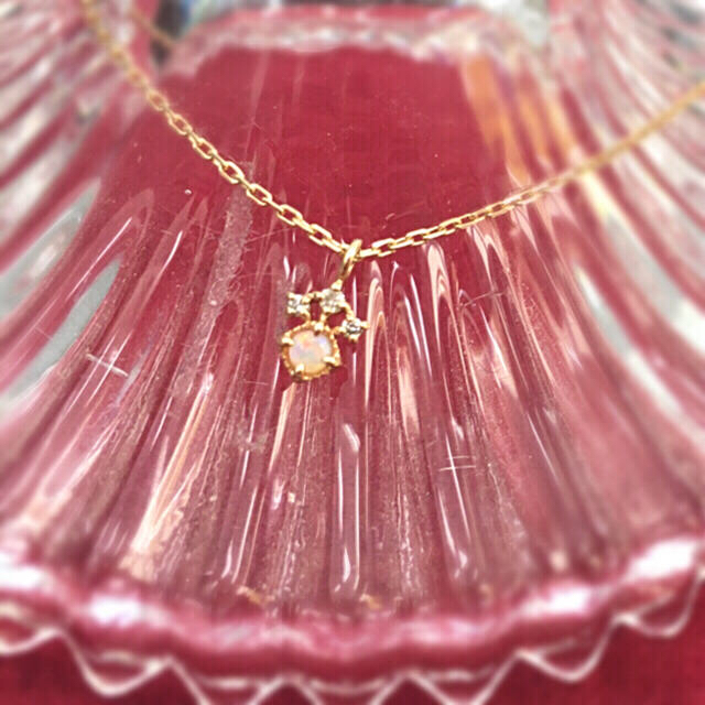 NOJESS(ノジェス)の✴︎☆nojess   オパール  ダイヤ ネックレス☆✴︎ レディースのアクセサリー(ネックレス)の商品写真