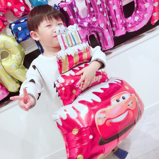 カーズの誕生日バルーンセット♡文字カラー変更可♡送料無料 エンタメ/ホビーのおもちゃ/ぬいぐるみ(キャラクターグッズ)の商品写真