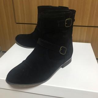 THE EMPORIUM - THE EMPORIUM ショートブーツ ミドル 黒