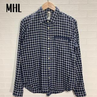 マーガレットハウエル(MARGARET HOWELL)のMHL マーガレットハウエル チェックシャツ サイズM(シャツ)