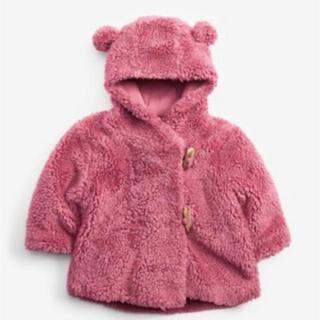 NEXT - 【next】クマ耳つきフリースジャケット
