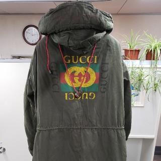 グッチ(Gucci)のGUCCI(グッチ)18AW/バックプリントモッズコート54(モッズコート)