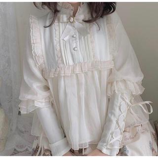 アンジェリックプリティー(Angelic Pretty)のロリィタ用シャツ(シャツ/ブラウス(長袖/七分))