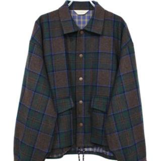 ジエダ(Jieda)のjieda plaid coach jacket(ブルゾン)