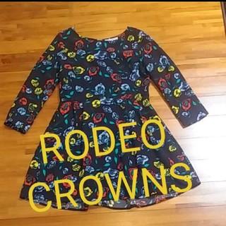 ロデオクラウンズ(RODEO CROWNS)のロデオクラウンズ ワンピース(ひざ丈ワンピース)