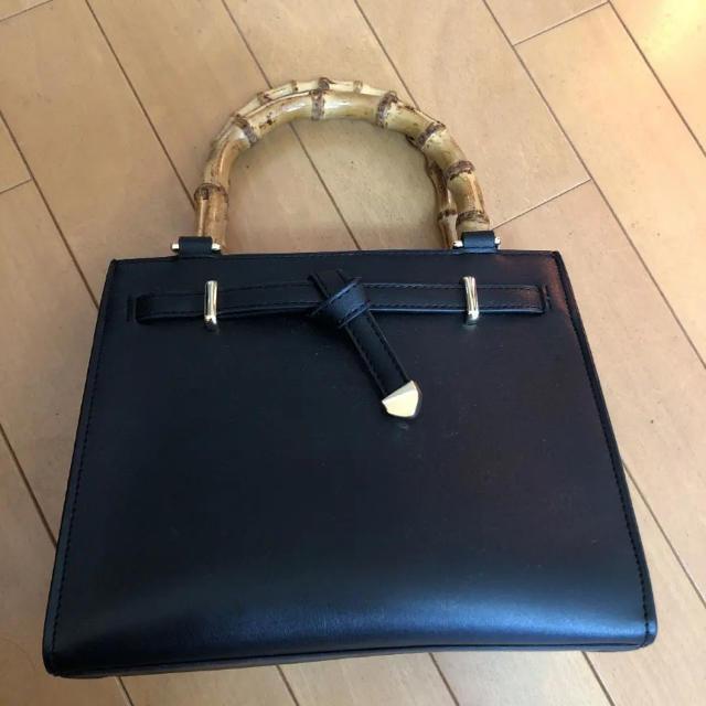 OPAQUE(オペーク)のバンブーハンドルバッグ レディースのバッグ(ハンドバッグ)の商品写真