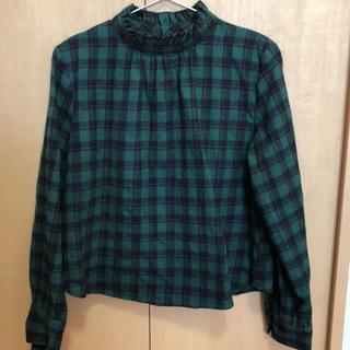 チェックシャツ 古着(シャツ/ブラウス(長袖/七分))