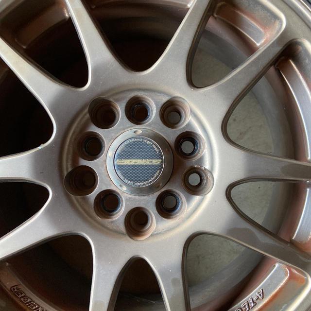 BRIDGESTONE(ブリヂストン)のSCHNEDERのホイールとブリジストンのエコピアのタイヤ4本セット 自動車/バイクの自動車(タイヤ・ホイールセット)の商品写真
