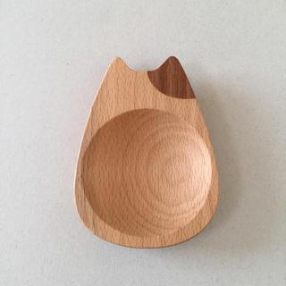 アクタス(ACTUS)の木製 猫のミニトレー(小物入れ)