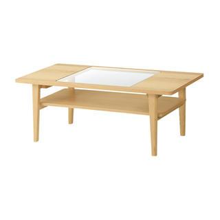 ウニコ(unico)のウニコ★シグネ★ローテーブル★新品(ローテーブル)