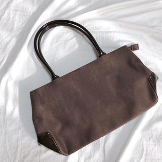 エディットフォールル(EDIT.FOR LULU)のused basic bag スエード調 ベーシック トートバッグ ブラウン(ハンドバッグ)