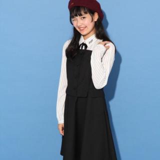 レピピアルマリオ(repipi armario)のrepipi レピピ ワンピース 140 ブラック フォーマル 卒服(ドレス/フォーマル)