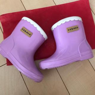 フタフタ(futafuta)の長袖 レインブーツ 15cm(長靴/レインシューズ)