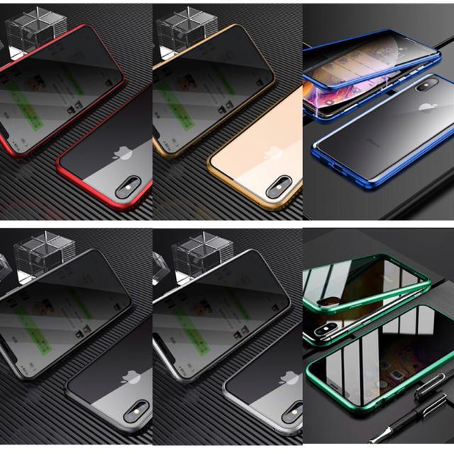 iPhone(アイフォーン)のiphoneケース 全面保護 360度フルカバー マグネット 覗き見防止 新品 スマホ/家電/カメラのスマホアクセサリー(iPhoneケース)の商品写真
