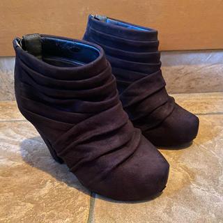 CECIL McBEE - ブーツ(黒)
