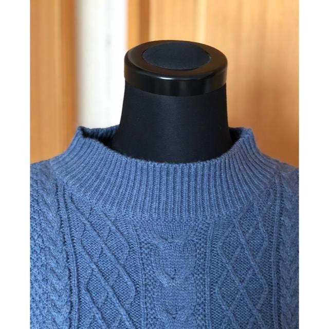 HONEYS(ハニーズ)のHoneys ケーブル編みチュニックセーター レディースのトップス(ニット/セーター)の商品写真