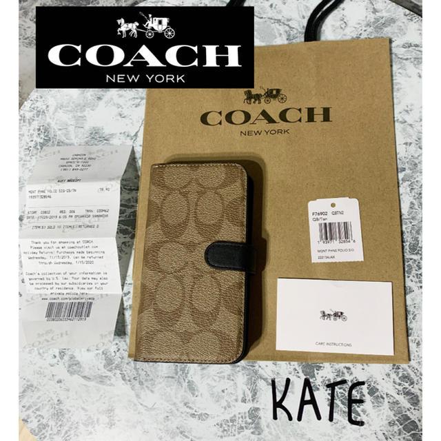 COACH - 【新品未使用】コーチ COACH iPhoneケース iPhoneX,XS 02の通販
