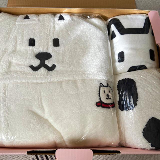 Softbank(ソフトバンク)のお父さん犬 レア ソフトバンク softbank バスグッズ バスローブ 非売品 エンタメ/ホビーのコレクション(ノベルティグッズ)の商品写真