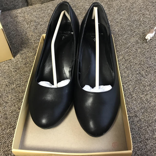 ORIHICA(オリヒカ)のリクルート 就活 黒 パンプス レディースの靴/シューズ(ハイヒール/パンプス)の商品写真