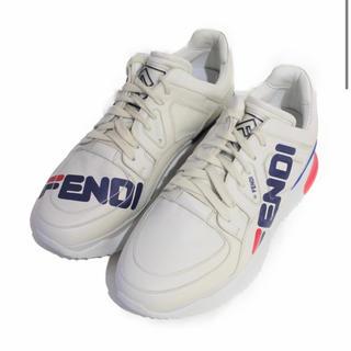 フェンディ(FENDI)のFENDI フェンディ×FILA ホワイトスニーカー(スニーカー)