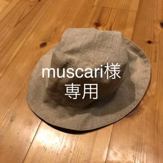 フォグリネンワーク(fog linen work)のfog リネン キッズハット(帽子)