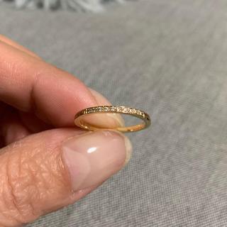 10kリング 指輪 9号 ピンクゴールド ハワイアン(リング(指輪))
