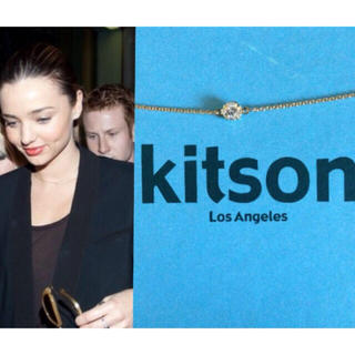 キャスキッドソン(Cath Kidston)のネックレス ゴールド (ネックレス)