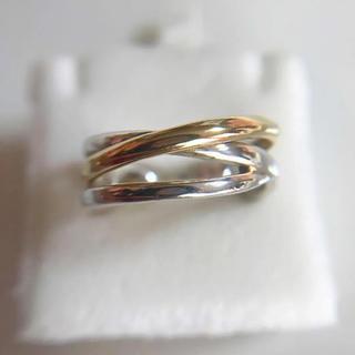 ティファニー(Tiffany & Co.)の925/18K コンビリング(リング(指輪))