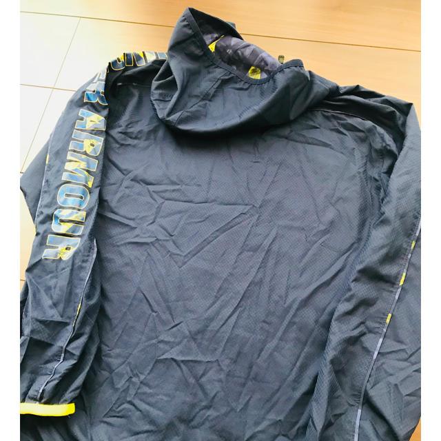 UNDER ARMOUR(アンダーアーマー)の即完売品 アンダーアーマー メッシュ ジャージ ジャンパー ジャケット パーカー キッズ/ベビー/マタニティのキッズ服男の子用(90cm~)(ジャケット/上着)の商品写真