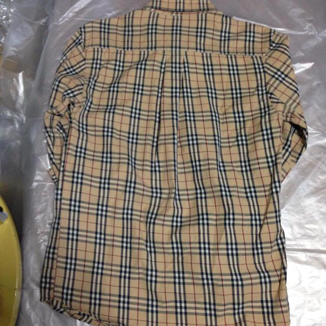 BURBERRY(バーバリー)のバーバリー メンズ 長袖シャツ ベージュチェック M メンズのトップス(シャツ)の商品写真