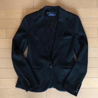 ポロラルフローレン(POLO RALPH LAUREN)の新品 ラルフローレン  テーラードジャケット 黒 Sサイズ相当(テーラードジャケット)