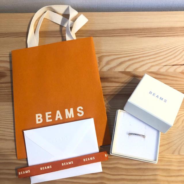 BEAMS(ビームス)のsale BEAMS 新品未使用 ストーンリング レディースのアクセサリー(リング(指輪))の商品写真