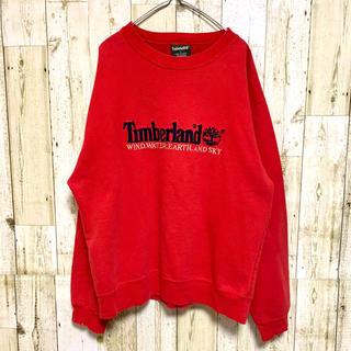 ティンバーランド(Timberland)のTIMBERLAND ティンバーランド スウェット トレーナー ビンテージ 刺繍(スウェット)