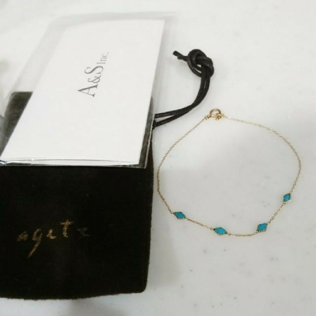 agete(アガット)のYui様専用☆☆agete K10 Dreamy Dreamy ブレスレット レディースのアクセサリー(ブレスレット/バングル)の商品写真