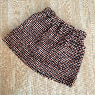 プティマイン(petit main)のプティマイン チェックスカート 80サイズ(スカート)