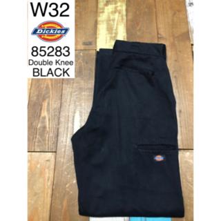 Dickies - 30044 アメリカ 輸入 ディッキーズ ダブルニー ブラック W32