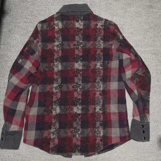 AYUITE(アユイテ)のAU15S アユイテ刺繍チェックシャツ(ブラック) メンズのトップス(シャツ)の商品写真