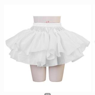 ボディライン(BODYLINE)のボディライン パニエ ホワイト(衣装)