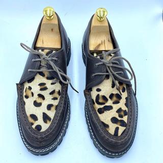 シップスジェットブルー(SHIPS JET BLUE)のSHIPS JET BLUE ブーツ 靴 ヒョウ柄(ブーツ)