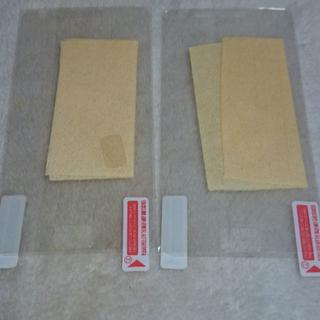 サムスン(SAMSUNG)のギャラクシーS2専用 液晶保護フィルム 2枚 ジャンク(保護フィルム)