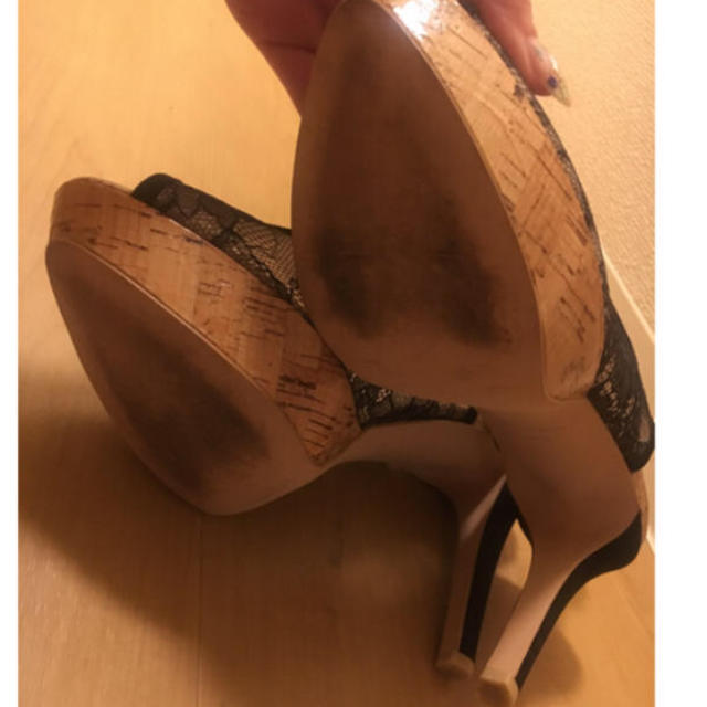 VII XII XXX(セヴントゥエルヴサーティ)のVll Xll XXX 美品 レースパンプス レディースの靴/シューズ(ハイヒール/パンプス)の商品写真
