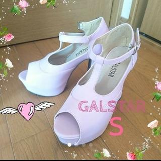 ギャルスター(GALSTAR)の♥GALSTAR Sオープントゥパンプスピンク(ハイヒール/パンプス)