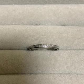 リング 指輪 シルバー サンドブラスト サージカルステンレス レディース(リング(指輪))